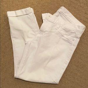 Hudson crop Harkin jeans